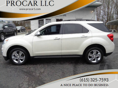2014 Chevrolet Equinox for sale at PROCAR LLC in Portland TN