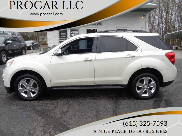 2014 Chevrolet Equinox for sale at PROCAR LLC in Portland TN