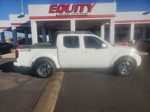 2016 Nissan Frontier for sale at EQUITY AUTO CENTER in Phoenix AZ