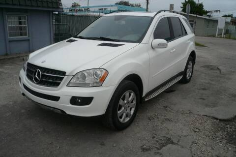 2007 Mercedes-Benz M-Class for sale at Eden Cars Inc in Hollywood FL
