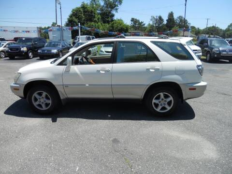 2002 Lexus RX 300 for sale at All Cars and Trucks in Buena NJ