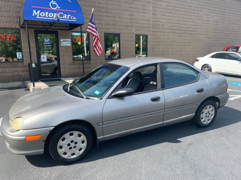 1998 Plymouth Neon for sale at CJ Clark's New England Motor Car Company in Hudson NH