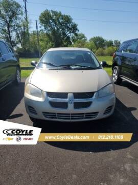 2005 Dodge Stratus for sale at COYLE GM - COYLE NISSAN - New Inventory in Clarksville IN
