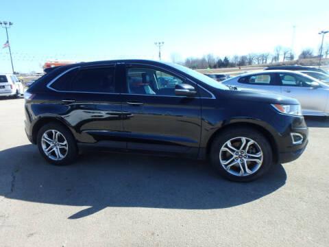 2015 Ford Edge for sale at BLACKWELL MOTORS INC in Farmington MO