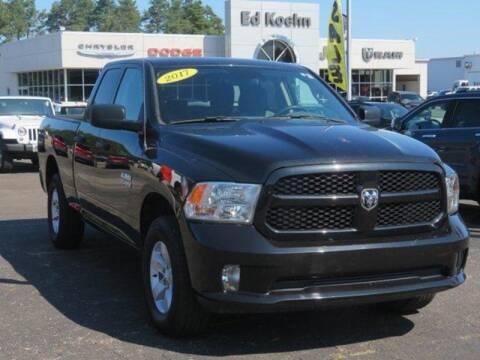 2017 RAM Ram Pickup 1500 for sale at Ed Koehn Chevrolet in Rockford MI