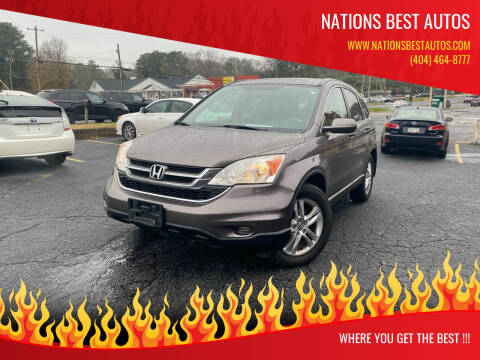 2011 Honda CR-V for sale at Nations Best Autos in Decatur GA