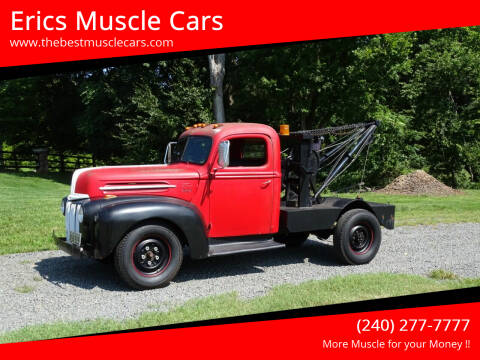1947 Ford 1 TON TOW TRUCK for sale at Erics Muscle Cars in Clarksburg MD