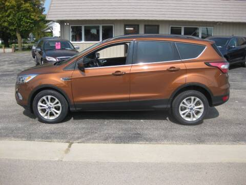 2017 Ford Escape for sale at Greens Motor Company in Forreston IL