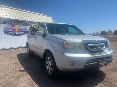 2009 Honda Pilot for sale at Praylea's Auto Sales in Peyton CO