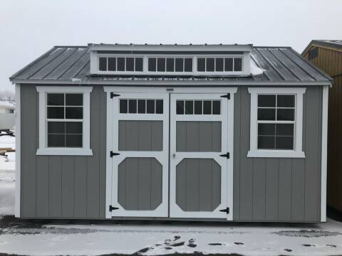 2021 Old Hickory Buildings Utility Dormer Shed for sale at Krantz Motor City in Watertown SD