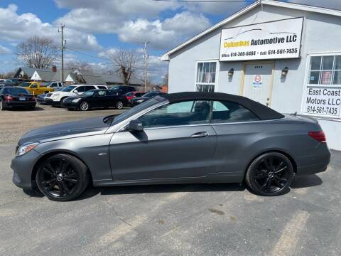 2014 Mercedes-Benz E-Class for sale at COLUMBUS AUTOMOTIVE in Reynoldsburg OH