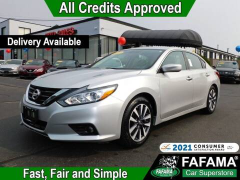 2017 Nissan Altima for sale at FAFAMA AUTO SALES Inc in Milford MA