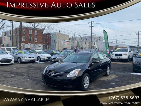 2012 Nissan Altima for sale at Impressive Auto Sales in Philadelphia PA