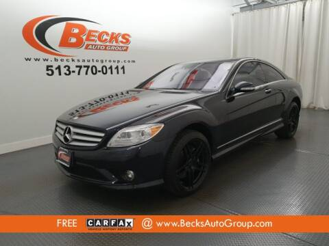 2009 Mercedes-Benz CL-Class for sale at Becks Auto Group in Mason OH