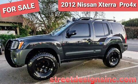 2012 Nissan Xterra for sale at STREET DESIGNS in Upland CA