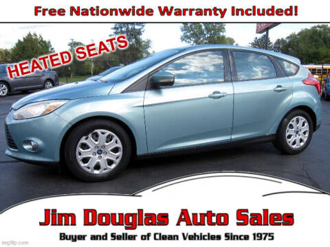2012 Ford Focus for sale at Jim Douglas Auto Sales in Pontiac MI