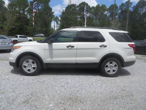 2012 Ford Explorer for sale at Ward's Motorsports in Pensacola FL