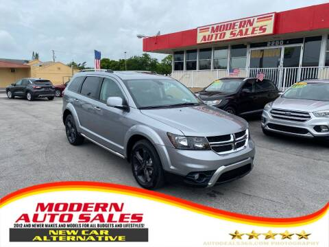 2020 Dodge Journey for sale at Modern Auto Sales in Hollywood FL