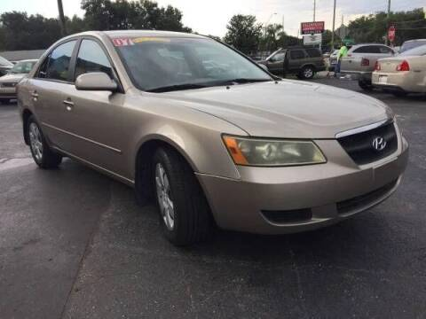 2007 Hyundai Sonata for sale at 4 Guys Auto in Tampa FL