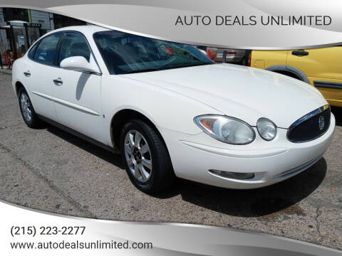 2006 Buick LaCrosse for sale at AUTO DEALS UNLIMITED in Philadelphia PA