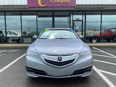 2015 Acura TLX for sale at DRIVEhereNOW.com in Greenville NC