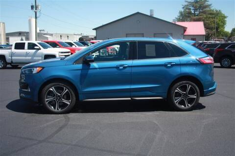 2019 Ford Edge for sale at SCHMITZ MOTOR CO INC in Perham MN