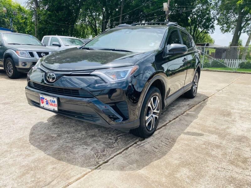 2017 Toyota RAV4 for sale at HOUSTON CAR SALES INC in Houston TX
