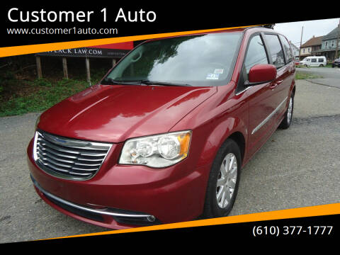 2012 Chrysler Town and Country for sale at Customer 1 Auto in Lehighton PA