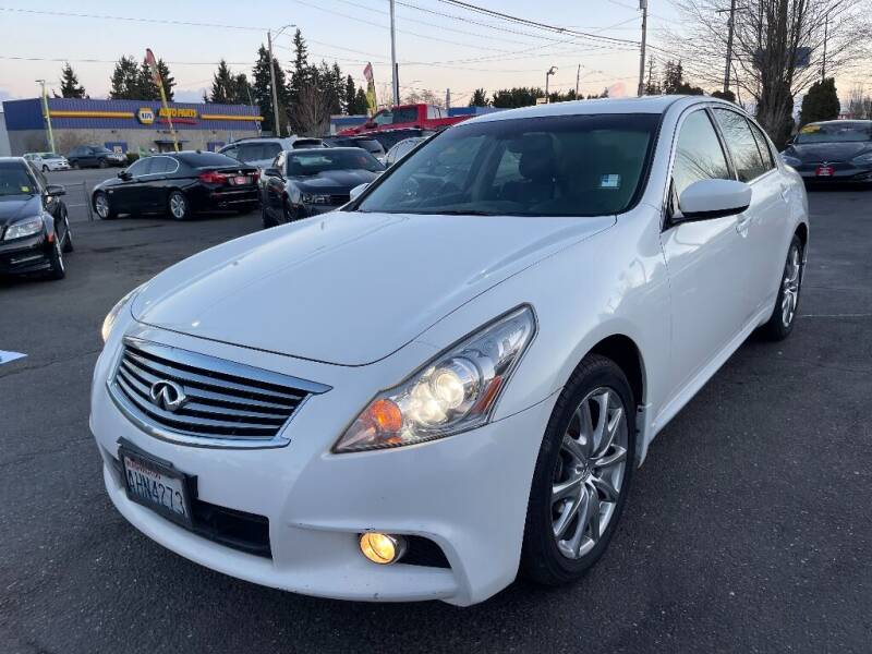 2012 Infiniti G37 Sedan for sale at Real Deal Cars in Everett WA