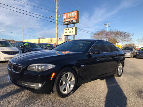 2011 BMW 5 Series for sale at Autohaus of Greensboro in Greensboro NC