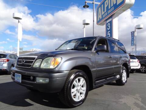 2004 Lexus LX 470 for sale at Alpine Auto Sales in Salt Lake City UT