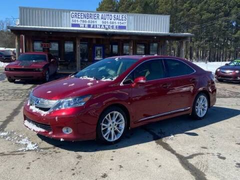 2010 Lexus HS 250h for sale at Greenbrier Auto Sales in Greenbrier AR