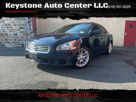 2014 Nissan Maxima for sale at Keystone Auto Center LLC in Allentown PA