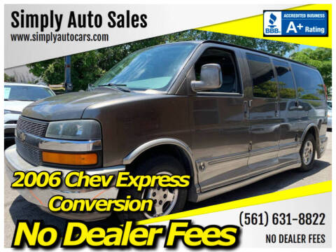 2006 Chevrolet Express Cargo for sale at Simply Auto Sales in Palm Beach Gardens FL