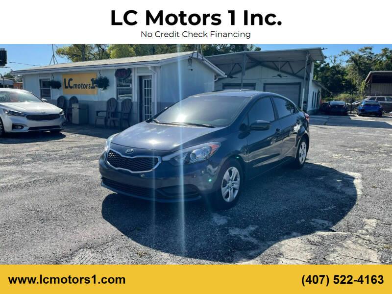 2016 Kia Forte for sale at LC Motors 1 Inc. in Orlando FL