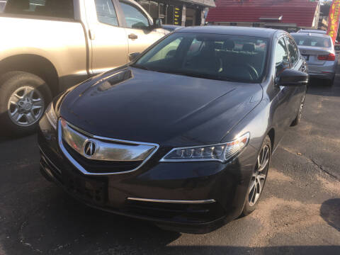 2016 Acura TLX for sale at MELILLO MOTORS INC in North Haven CT