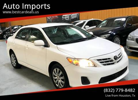 2013 Toyota Corolla for sale at Auto Imports in Houston TX