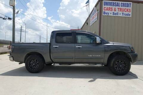 2005 Nissan Titan for sale at Universal Credit in Houston TX