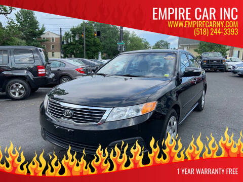 2009 Kia Optima for sale at EMPIRE CAR INC in Troy NY