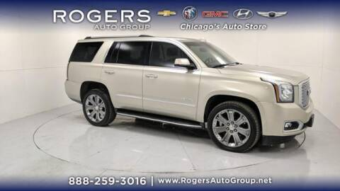 2016 GMC Yukon for sale at ROGERS  AUTO  GROUP in Chicago IL