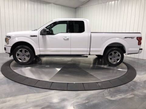2018 Ford F-150 for sale at HILAND TOYOTA in Moline IL