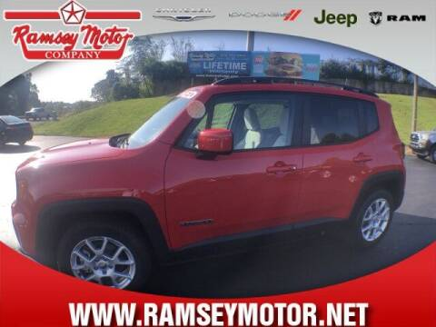 2019 Jeep Renegade for sale at RAMSEY MOTOR CO in Harrison AR