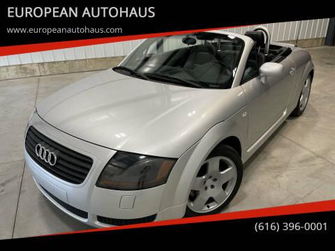 2001 Audi TT for sale at EUROPEAN AUTOHAUS in Holland MI