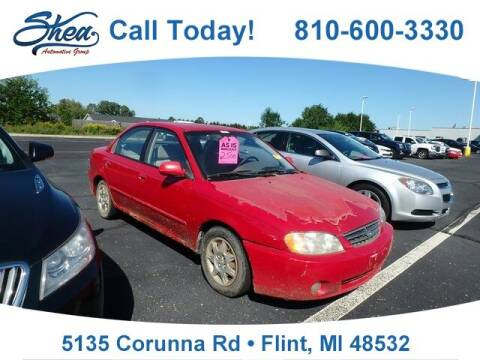 2003 Kia Spectra for sale at Erick's Used Car Factory in Flint MI
