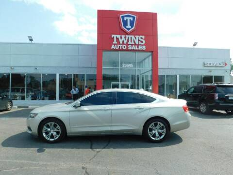 2014 Chevrolet Impala for sale at Twins Auto Sales Inc Redford 1 in Redford MI