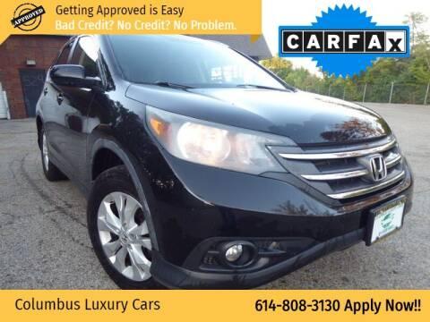 2012 Honda CR-V for sale at Columbus Luxury Cars in Columbus OH