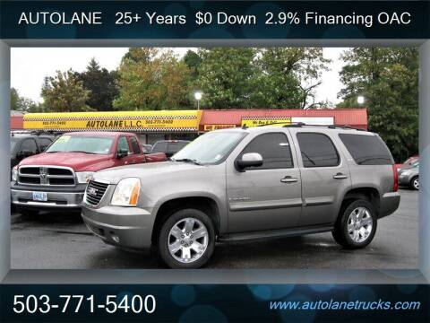 2007 GMC Yukon for sale at Auto Lane in Portland OR