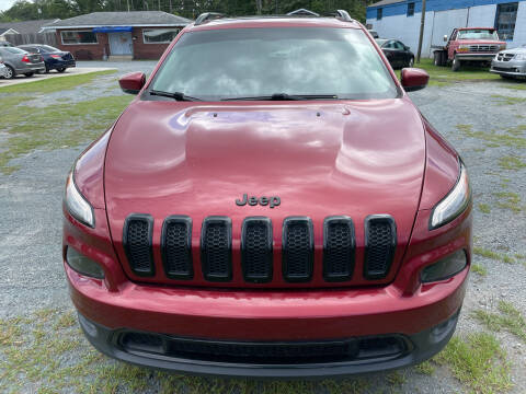 2017 Jeep Cherokee for sale at LAURINBURG AUTO SALES in Laurinburg NC