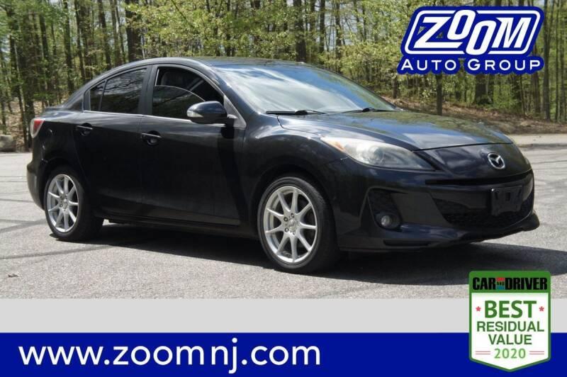 2012 Mazda MAZDA3 for sale at Zoom Auto Group in Parsippany NJ
