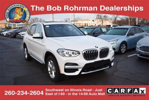 2020 BMW X3 for sale at BOB ROHRMAN FORT WAYNE TOYOTA in Fort Wayne IN